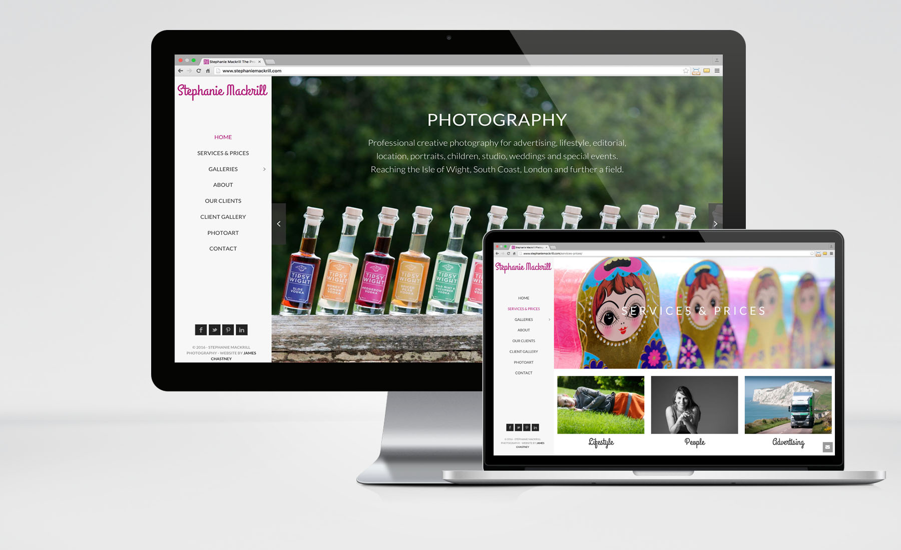 Stephanie Mackrill – Website Design & IT